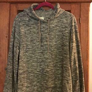 Lou & Grey Hooded Jersey Dress
